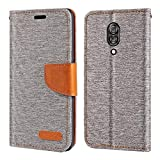 Lenovo Z5 Pro Case, Oxford Leather Wallet Case with Soft