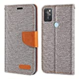 Umidigi A9 Max Case, Oxford Leather Wallet Case with Soft