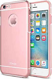 iPhone 6s Case, XDesign Inception Case [Apple Aluminum] TPU+PC [Triple Injected] Frame - Durable Stylish Protective Slim Case for Apple iPhone 6 / 6s (4.7 inch) - Rose Gold