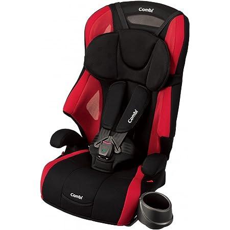 Combi(コンビ) シートベルト固定 チャイルド&ジュニアシート 1歳頃から11歳頃まで ジョイトリップ エアスルー GG レッド 通気性に優れたエアスルーモデル