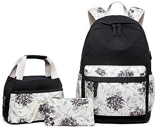 Couleur : B Tendance de la Mode Denim Backpack Loisirs Collège Style Personnalité Sac Collégien Étudiant Mesdames Sac À Dos Trois Couleurs