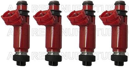 Re-Manufactured Genuine Siemens Set Of 6 Fuel Injectors For 2001-2002-2003-2004-2005-2006-2007 Ford Ranger Mazda B3000 3.0L V6 4L5E-A4A