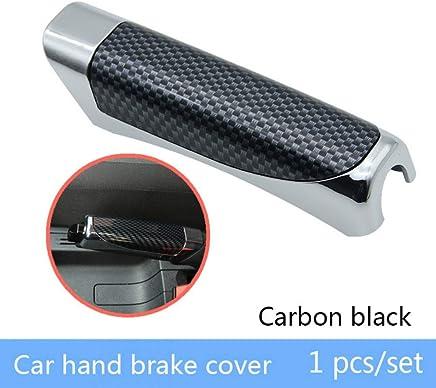 Cambiar vehículo. QIAOBA Cubiertas de automóviles Freno de Mano Diseño de Fibra de Carbono para VW Polo Golf