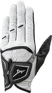 MIZUNO(ミズノ) ゴルフグローブ ダブルグリップ 指先ショート メンズ 左手 人工皮革+シリコーンプリント加工×合成皮革 21~26cm 5MJMS801