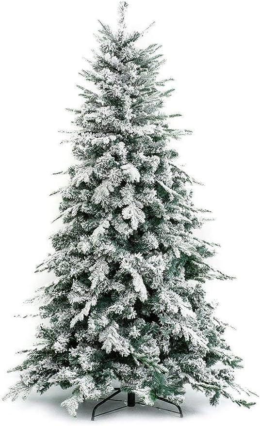 Albero Di Natale Amazon.Xone Albero Di Natale Innevato Alaska 180 Cm Effetto Realistico Amazon It Casa E Cucina