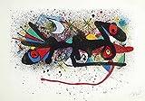 Berkin Arts Joan Miro Giclee Kunstdruckpapier Kunstdruck