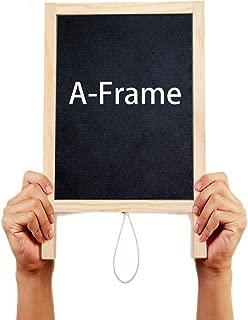A-Frame Chalkboard,Freestanding Sidewalk Message Board,Mini double-Sided A-Frame Blackboard,mini blackboard for children