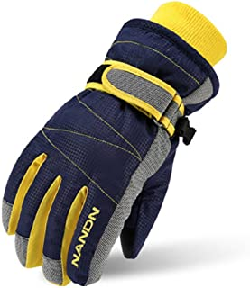 Kids Winter Warm Windproof Outdoor Sports Gloves For Boys Girls