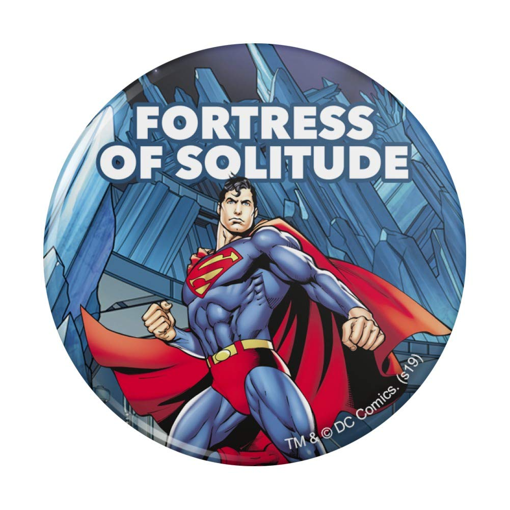 Superman Fortress of Free Shipping Cheap Bargain Gift Solitude Ranking TOP4 Compact Pocket Purse Hand Cosmetic