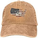 Gorra de béisbol de algodón Lavado clásico Hip Hop Sombrero Ajustable para papá