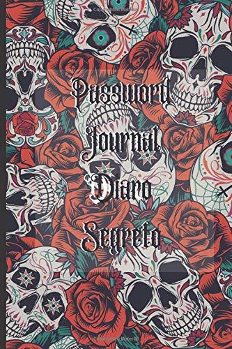 Password Journal Diaro Segreto: Agenda per password, regalo perfetto per festa della mama, papà, nonni ... formato tascabile