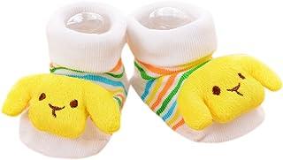 VIccoo, VIccoo Calcetines Bebe, Antideslizante Algodón Nacido Infantil de Dibujos Animados Zapatillas de Animales Botas Unisex - 8