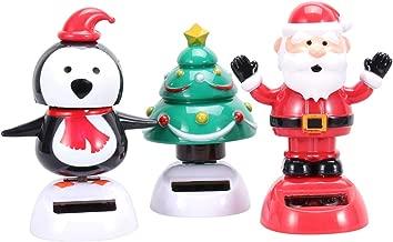 Solar Dancing Dancer Uncle Sam /&Santa Fun Novelty Toy Dancing Bobble