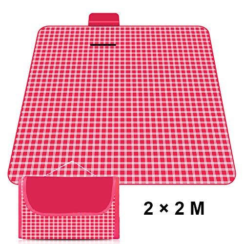 JYHW Außenfeuchtigkeitsgeschützte Picknick-Decke Tragbare Blanket Park Reisen Suburban Oxford Tuch-Strand-Matte Wasserdicht Sand Beweis Wasserbeständig,A,1.8×1.5M
