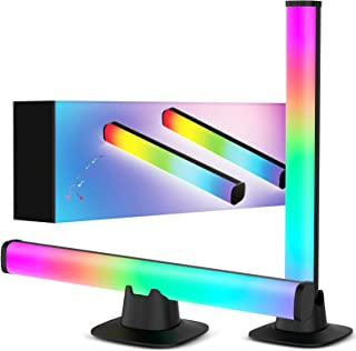 Sunnila Smart LED Lightbar, Smart RGB Ambiance Play Lightbar, Gaming Lampe Sync mit Musik, Dimmbar 16 Millionen Farben und...