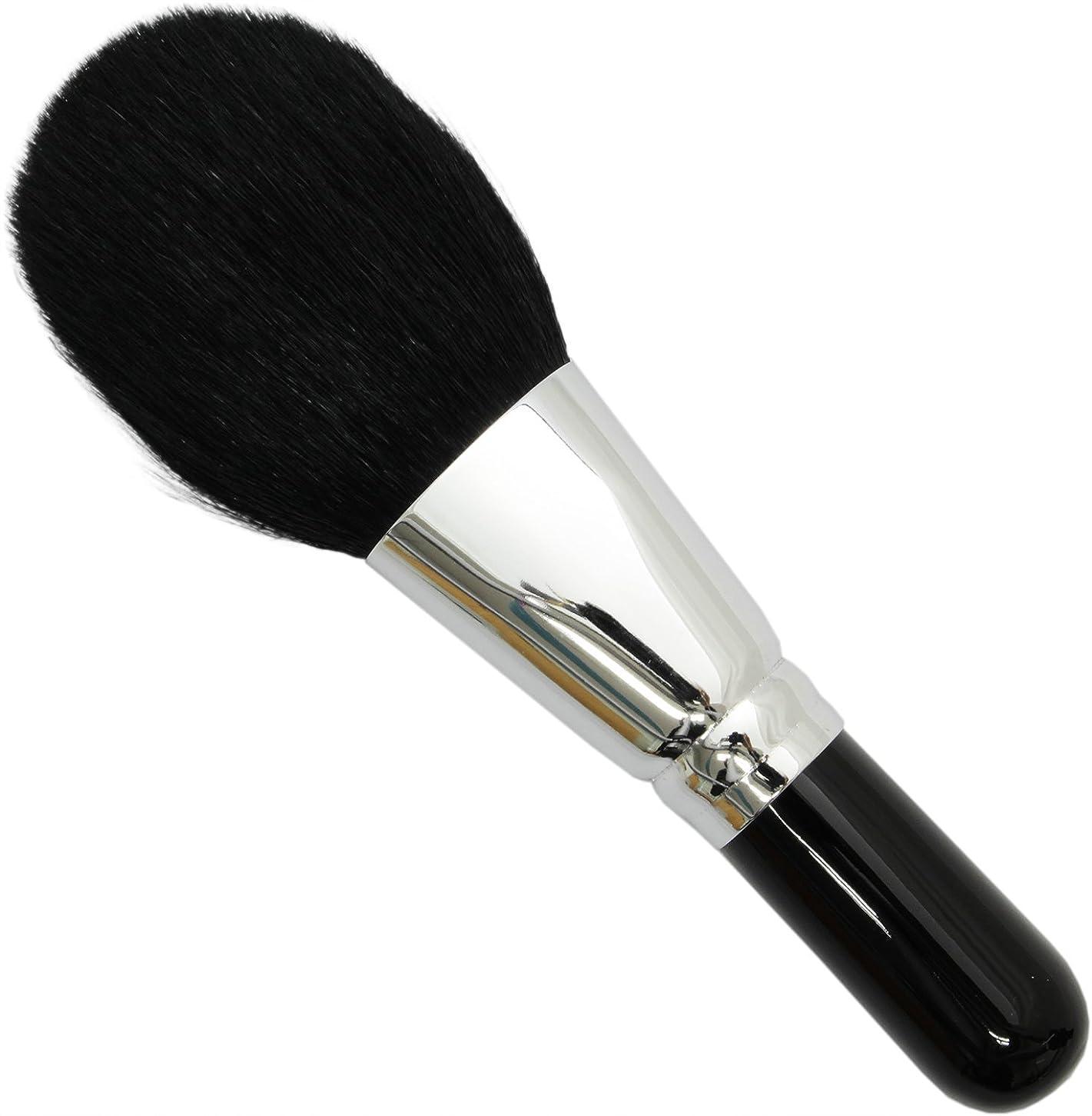 ブラウザ終わらせる満たす熊野筆 メイクブラシ SRシリーズ フェイスブラシ 山羊毛