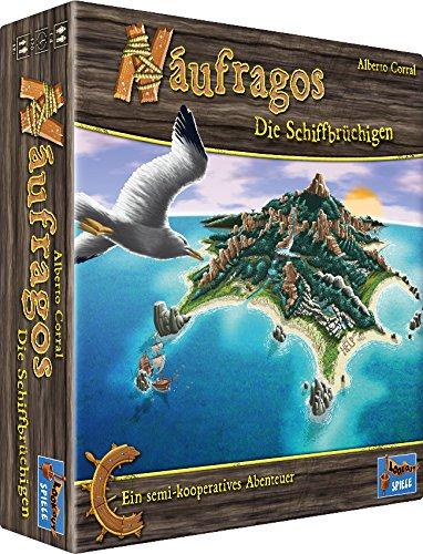 Lookout Games 22160066 - Naufragos, Brettspiel