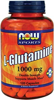 Now Foods L-Glutamine 1000 mg - 120 Caps 6 Pack
