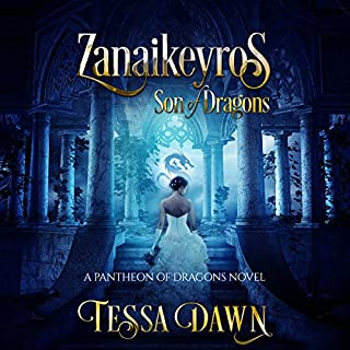 Zanaikeyros - Son of Dragons audiobook cover art