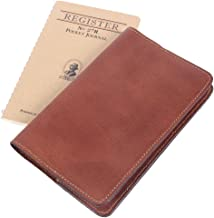 product image for Mens | Womens | Leather | Pocket | Journal | Refillable | Ruled | Composition | Notebook | Made in USA | Gift Idea
