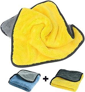 Fireflywill Car Microfiber Towel, Professional Grade Premium Microfiber Towels Drying Absorber Car Polishing Waxing Cleani...