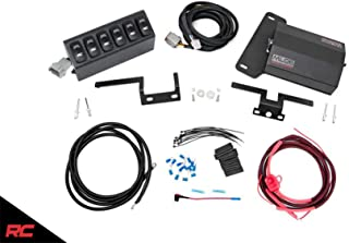 Rough Country 70959 MLC-6 Multiple Light Controller for 07-18 Jeep Wrangler JK