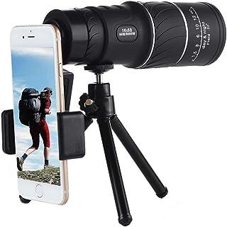 Monocular Telescope High Power 40x60 Monoculars Spotting Scope with Smartphone Holder & Tripod Low Night Vision for Wildli...
