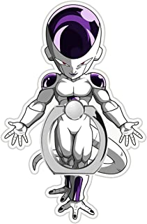 MIM Global Dragon Ball Z Super GT Phone Ring Finger Holder Grip Keyring Compatible with All Mobile Phones Tablets Devices (Frieza)