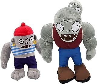TavasHome Plants Vs Zombies 2 Figures Plush Toy Gargantuar PVZ Soft Stuffed Doll 12 inches Baby Gift