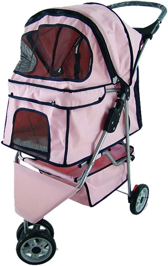 QIAO Pet Travel Stroller Sales results Max 49% OFF No. 1 Cat Dog Buggy C Trolley Puppy Pushchair