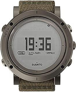 Essential Slate Digital Dial SS Textile Quartz Men's Watch SS021217000