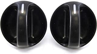 2 Compatible with Toyota Tundra 2000-2006 Control Knobs Heater AC or Fan Replacement New