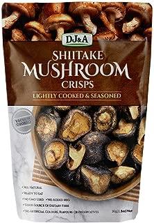 Shitake Mushroom Crisps Lightly Cooked & Seasoned 5.29 oz. (Pack of 2)