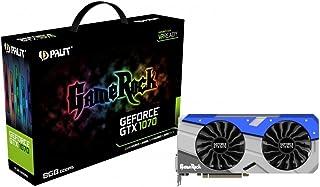 Palit GeForce GTX 1070 GameRock - Tarjeta Grafica de 8 GB GDDR5 VR Ready, 1920 Core, GPU 1556 MHz, Color Negro
