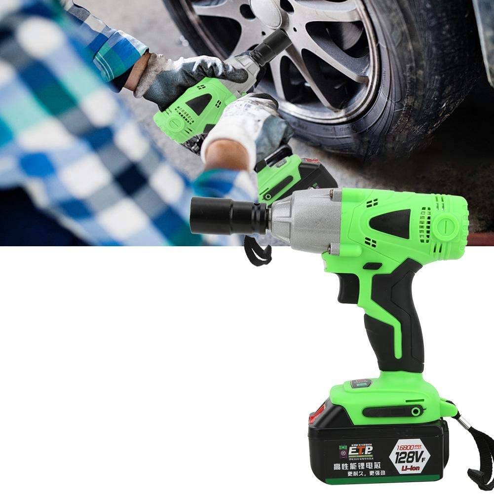 Naroote Electric Wrench Max 84% OFF Time sale 128Vf Rechargeable B Li