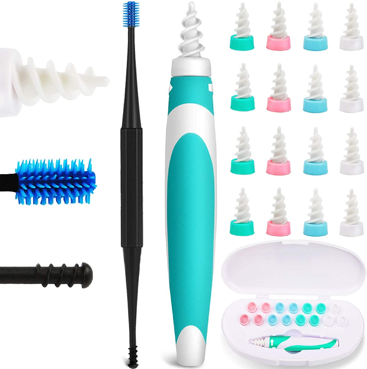 Q-Grips Earwax Attention brand Remover Silicone E Max 66% OFF Ear-Wax-Removal-Tool Soft Safe