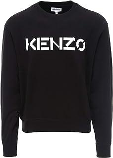 Kenzo Luxury FA65SW0004MD99 - Felpa da uomo in cotone, colore: nero
