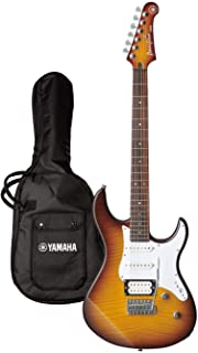 Yamaha Pacifica Series PAC212VFM Electric Guitar - Flamed Maple Body And Headstock - Tobacco Sunburst
