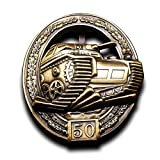 world war 2 medals - Military Medal WW2 German Panzer Assault Military Badge ww2 Tanks pz kpfw iii 50 Combats