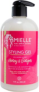 Mielle Organics Styling Gel Honey & Ginger 13oz / 384ml