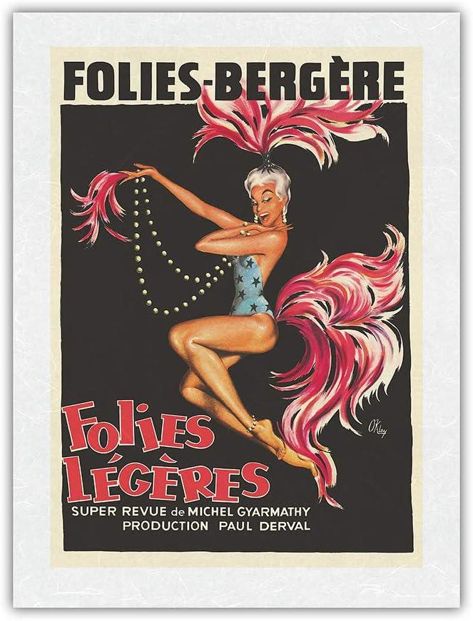 Folies Bergère Outlet sale feature - Special price for a limited time Légéres France Paris Burlesqu Revue