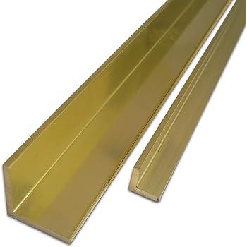 Ma/ße HxB: 5 x 50 mm   Flachstange L/änge ca massiv MS58 25 cm B/&T Metall Messing Flach CuZn39Pb3