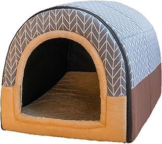 Houses كلب بيت الكلب بيت خيمة البيت هريرة السرير بيت الكلب كبير الكلب منزل نوع أربعة مواسم العالمي الحيوانات الأليفة للإزا...