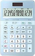 $81 » WXIANG Calculator Desktop Portable Calculators Female Business 14-Digit Display Type Dual Power Calculator Multi-Function ...