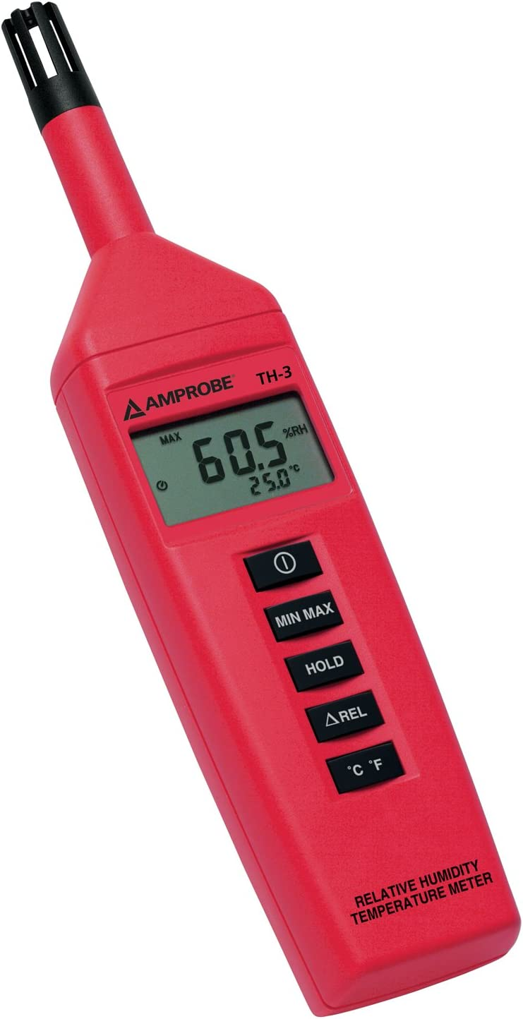 Amprobe TH-3 Relative Temperature Meter Columbus Mall Outstanding Humidity