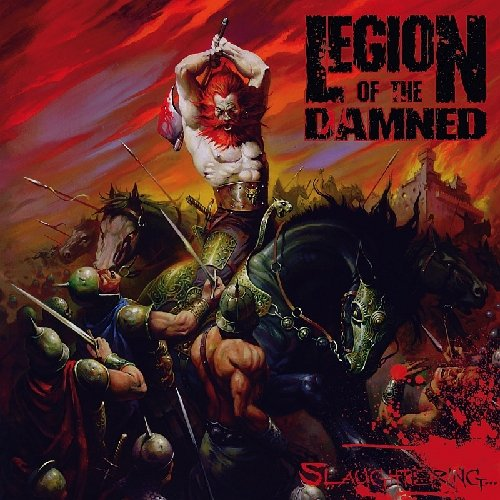 Legion Of The Damned - Slaughtering [2 DVDs]