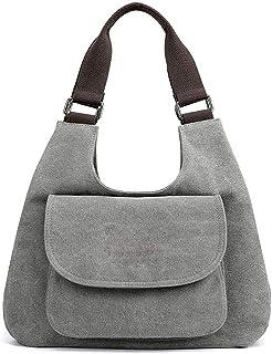 Cccjiingjindjb Tote Bag for Women, Women Handbag Canvas Female Shoulder Bags Women's Messenger Bags Ladies Casual Bags Clu...