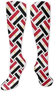 MISS-YAN, Calcetines para hombre y mujer, diseño de bandera de Egipto