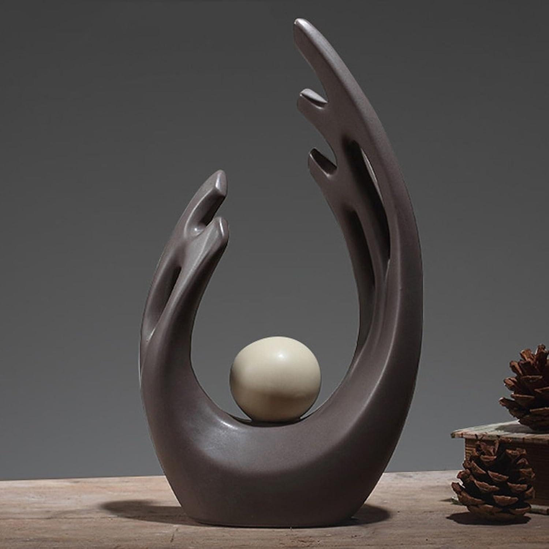 PLDDY Crafts Decoration Decoration Ceramic Home Soft Decoration Ideas (1 Piece) (Size   L)