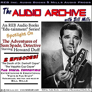 A Sam Spade Audio Double-Feature Starring Howard Duff, Volume 1 cover art
